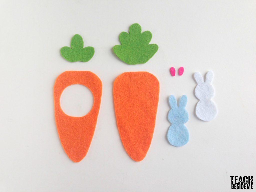 Peter Rabbit Felt Easter Craft Teach Beside Me