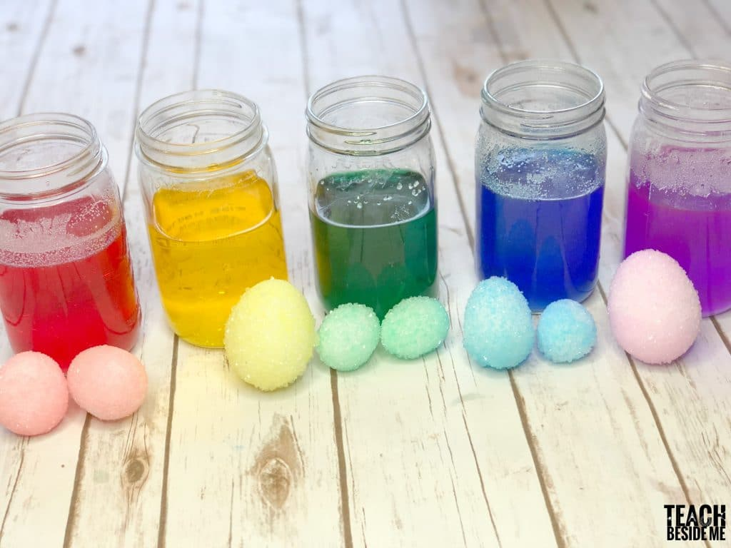 rainbow crystal eggs
