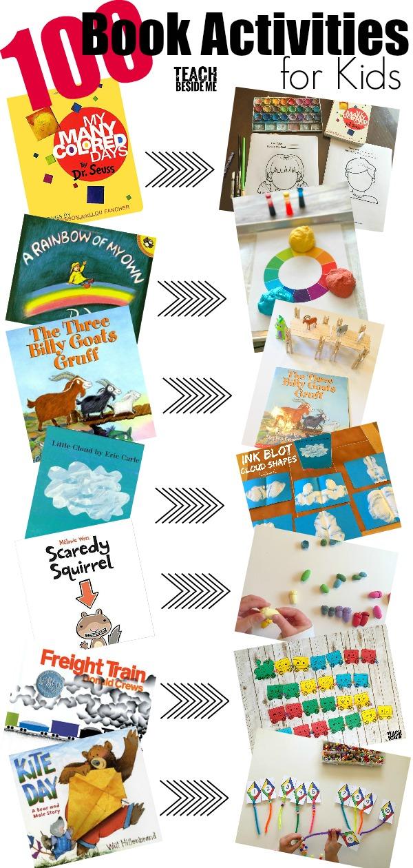 100 Book Activities for Kids