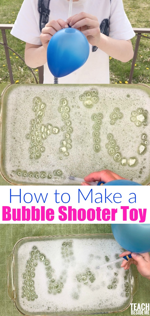 How to make a bubble shooter toy