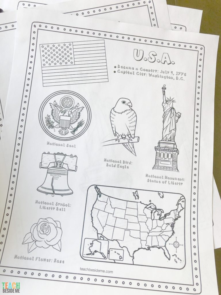 United States Geography Lessons – Teach Beside Me