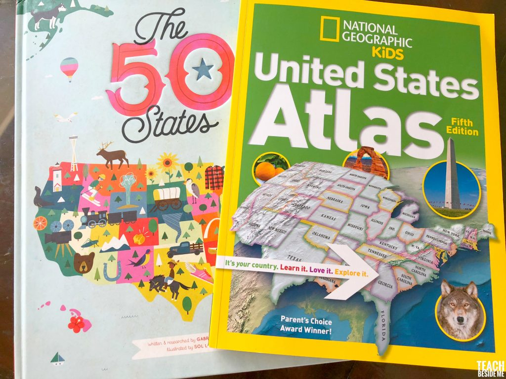 US atlas for kids