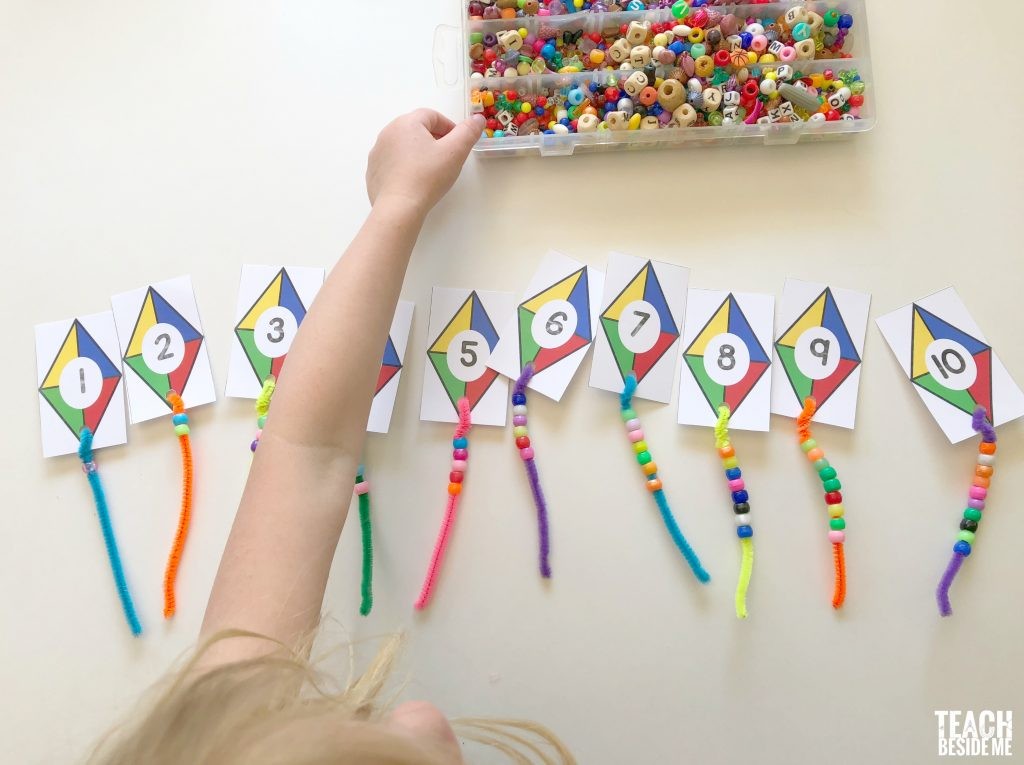 kite math for preschool