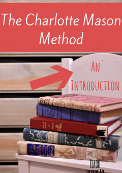Homeschool Methods: Charlotte Mason