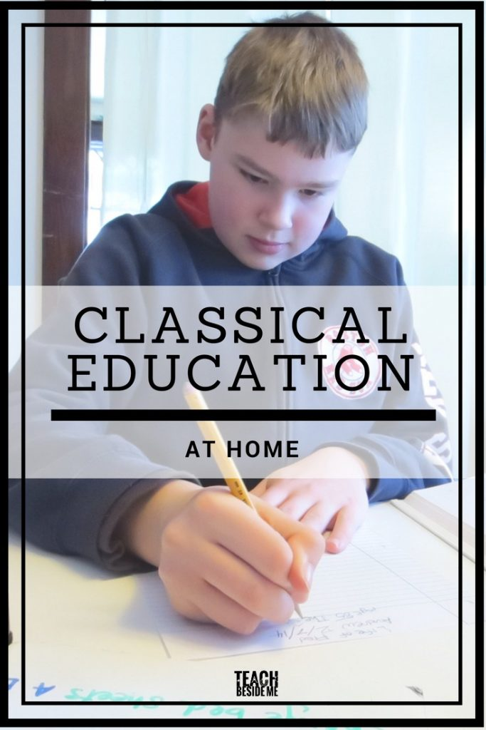 classical education at home