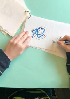 Cursive Letter Formation Tracing Cards
