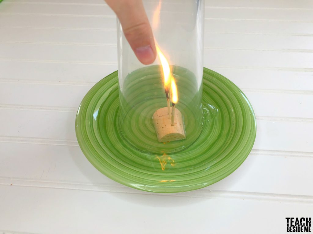 rising water candle experiment