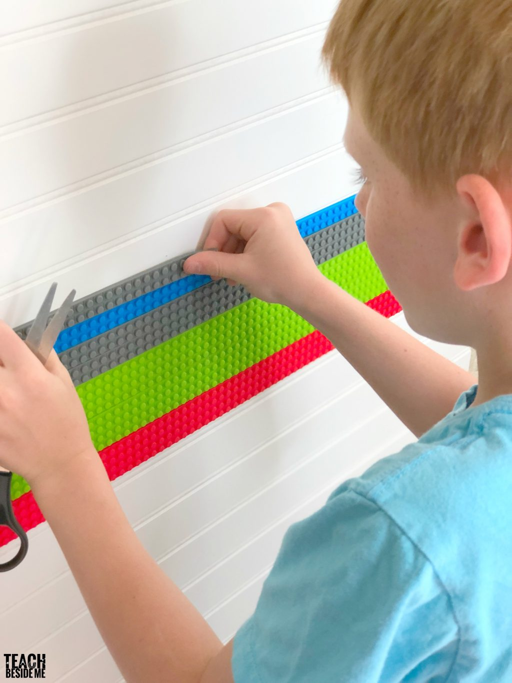 lego tape wall