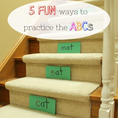 5 Fun Ways to Practice the ABC's