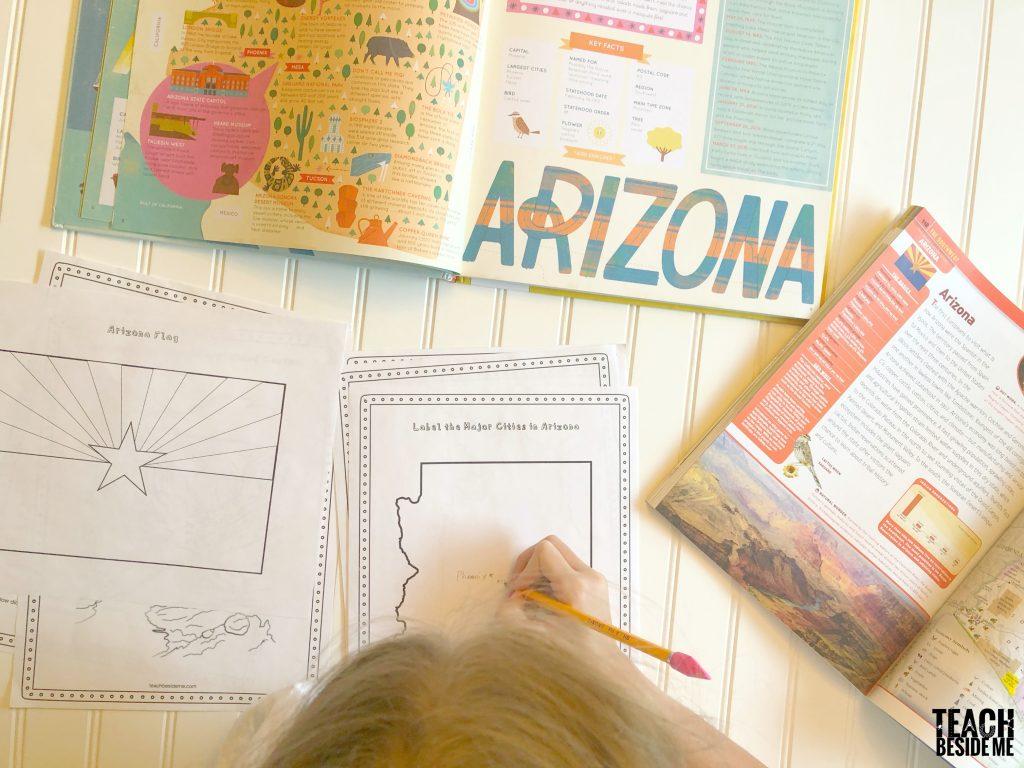 US geography- Arizona