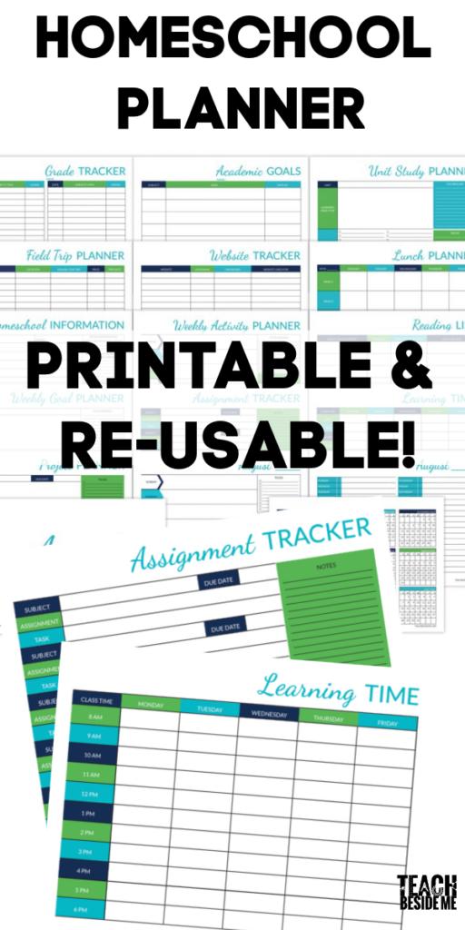 Ultimate Printable Homeschool Planner