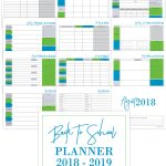 Back to School Planner and Homeschool Planner