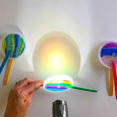 Mixing Colors Science Project: Pattern Projectors