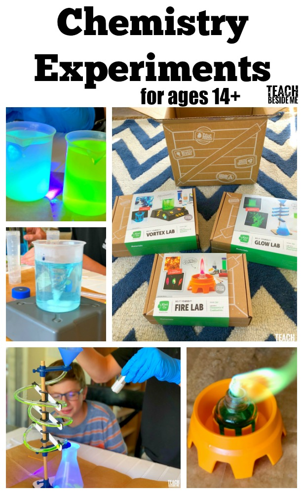 Chemistry Experiments for ages 14+