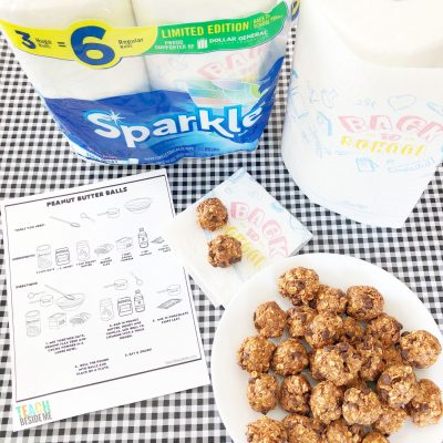 Kids Cooking Lesson: Peanut Butter Balls