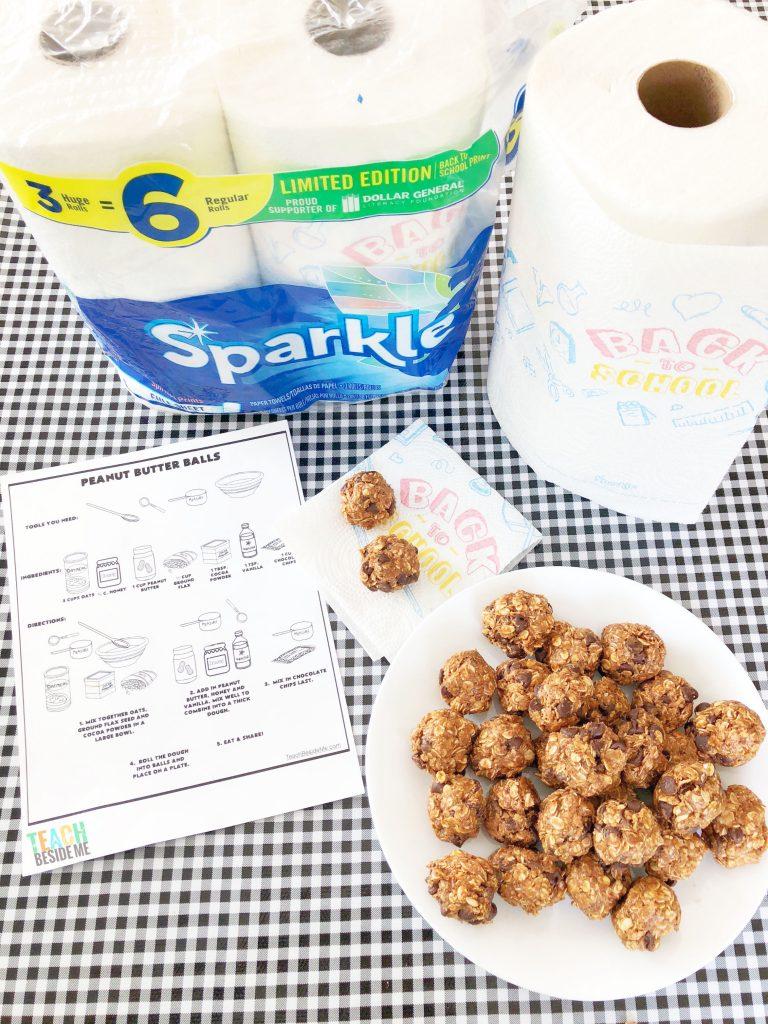 Kids Cooking Lesson- Peanut Butter Balls