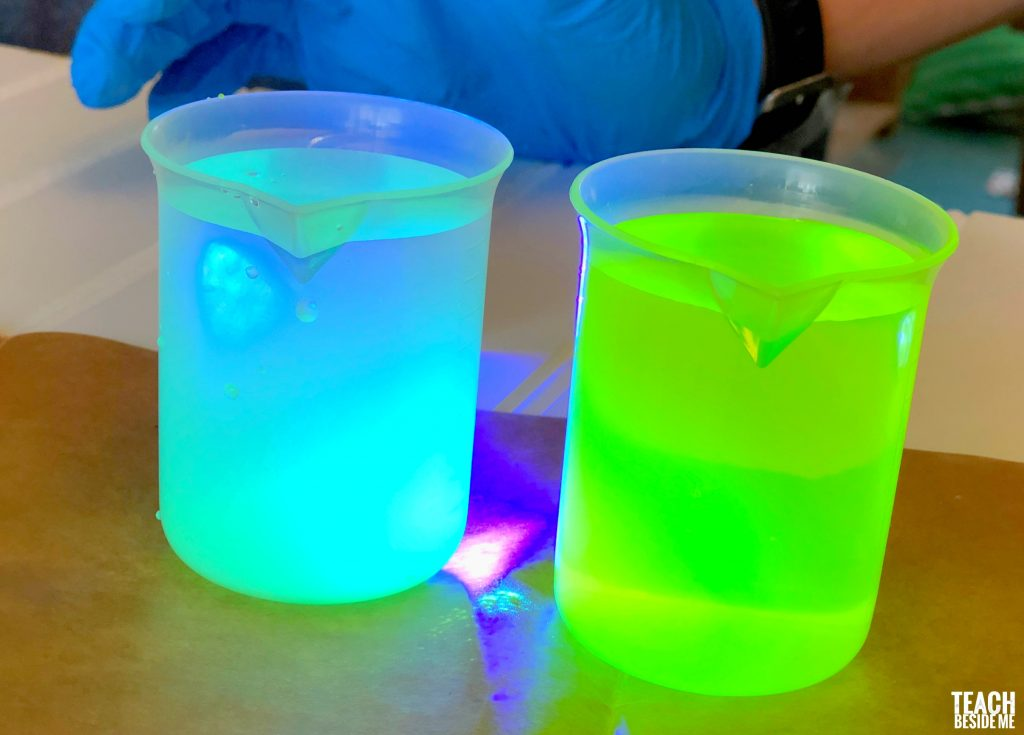 chemistry glow experiments