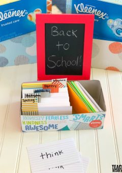 School Organization: Kleenex® File Box