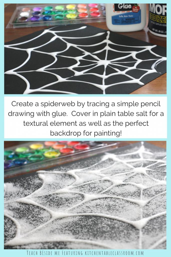 Very Bust Spider Spiderweb Craft