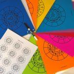 Printable Math Addition Wheels