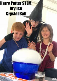 Harry Potter Crystal Ball: Dry Ice Experiment