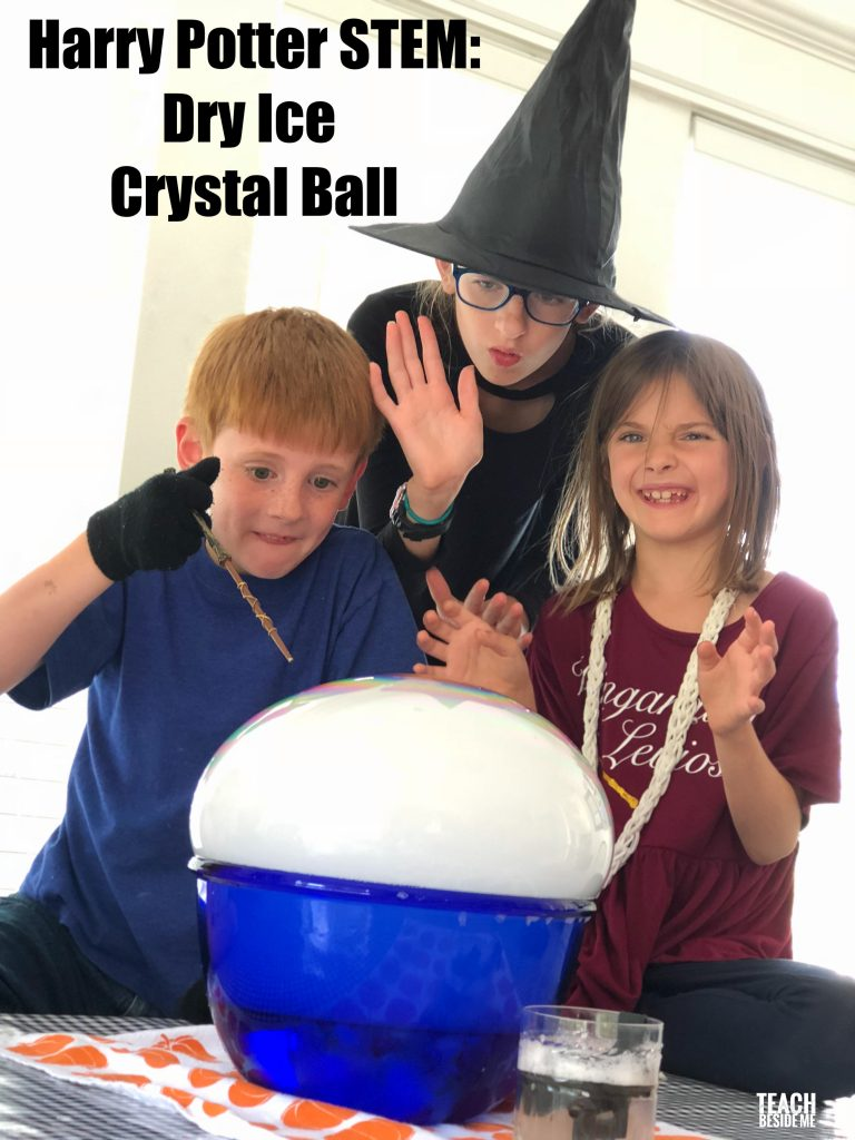 Harry Potter STEM: Dry Ice Crystal Ball