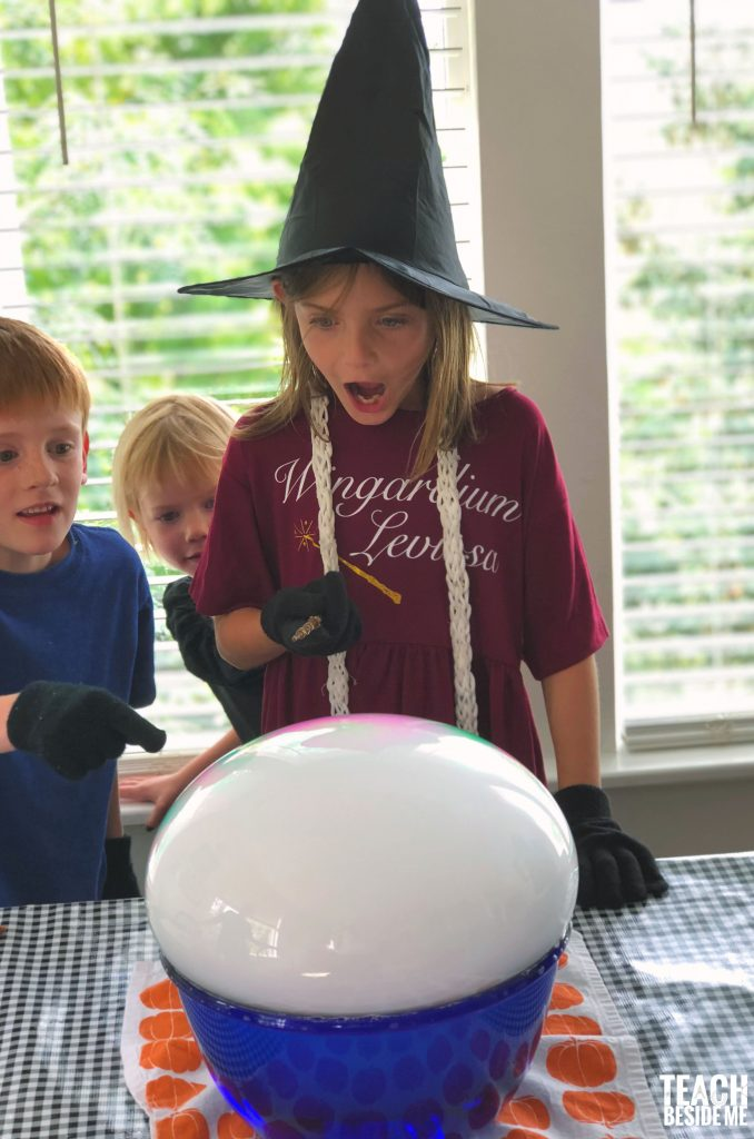Harry potter dry ice crystal ball experiment