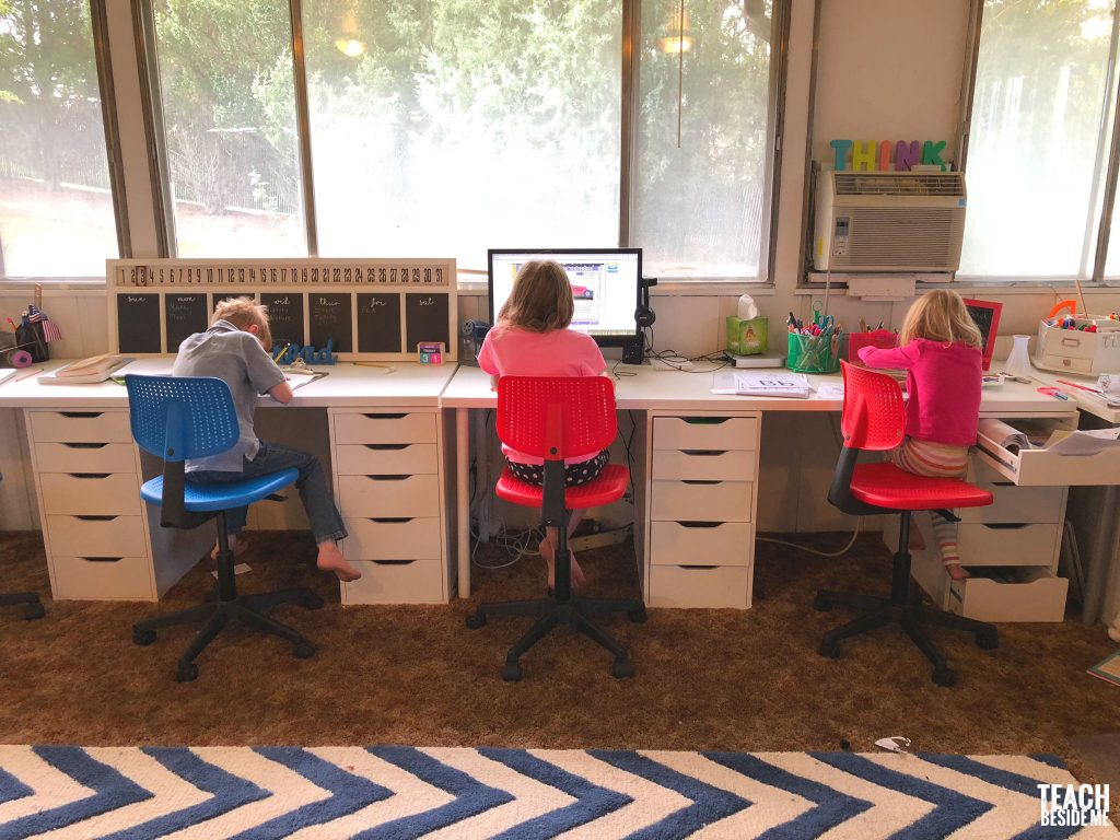 Our Homeschool Room – Teach Beside Me
