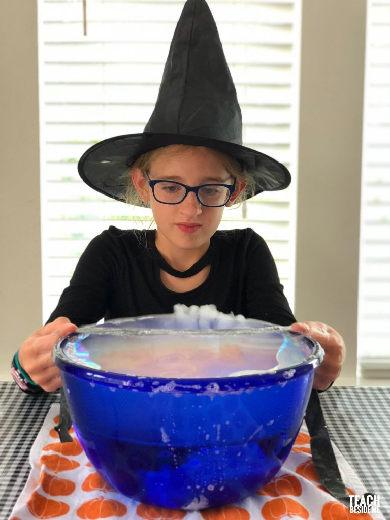 harry potter dry ice experiment