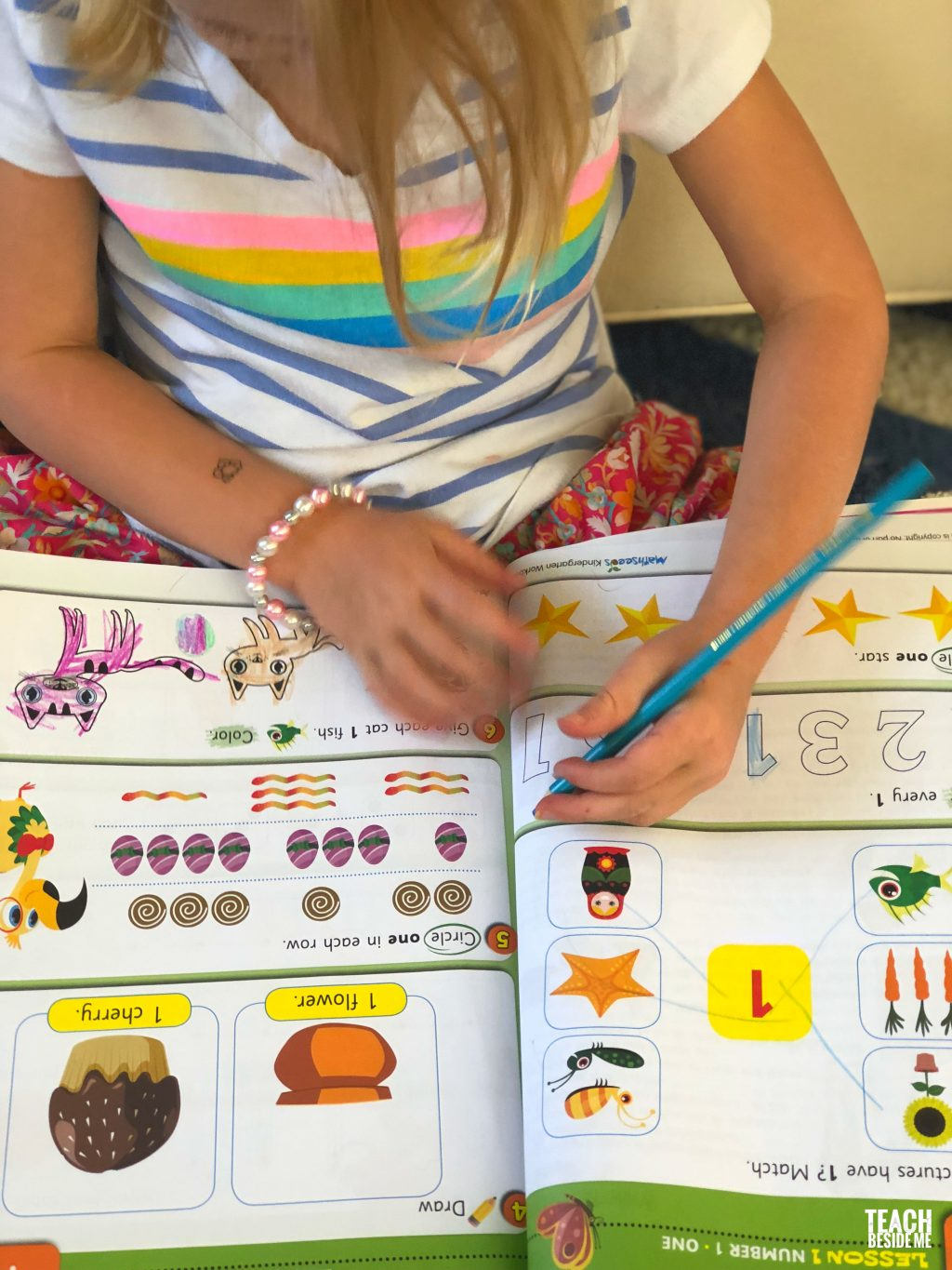 reading eggs workbooks- math seeds