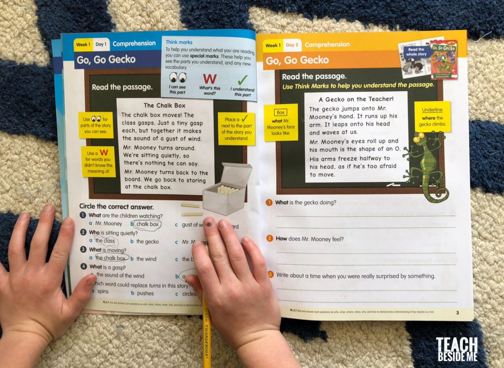 reading workbook 2nd grade