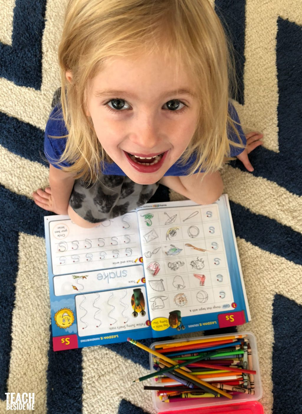 reading workbook for kids