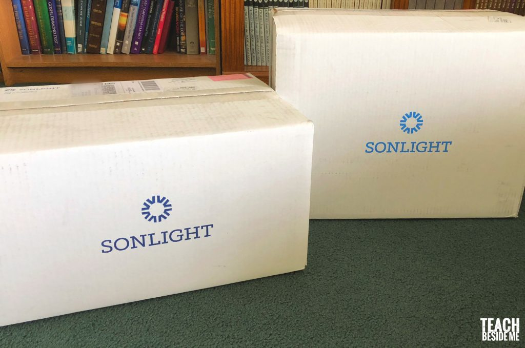 sonlight boxes