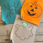 Halloween STEM~ Paper Circuits