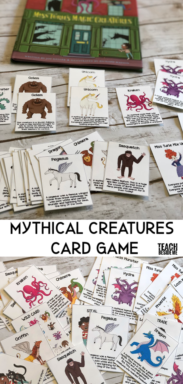 Mythical Creatures Card Game