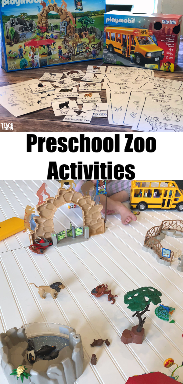 Printable preschool zoo activities