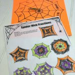 Spider Web Fraction Game