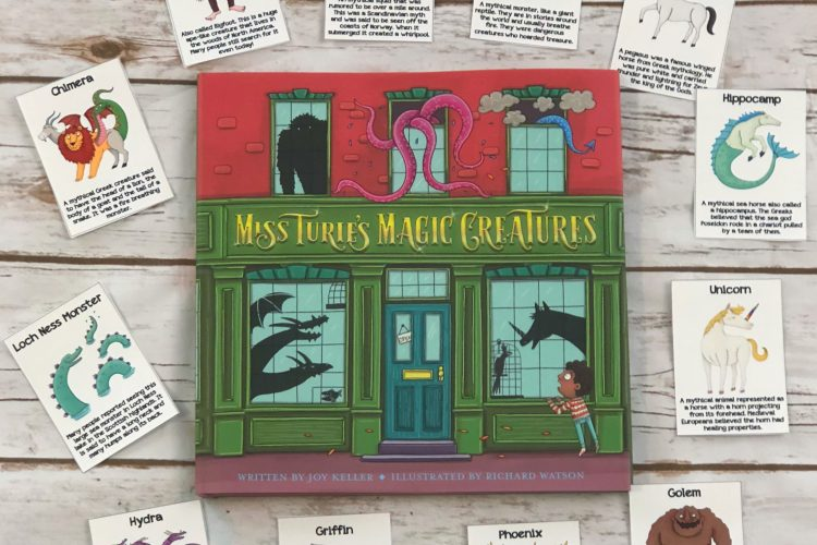 Mythical Creatures Card Game for Kids