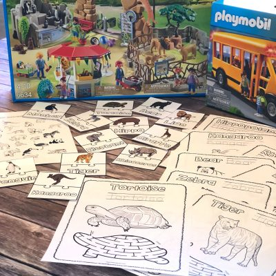 Preschool Zoo Activities
