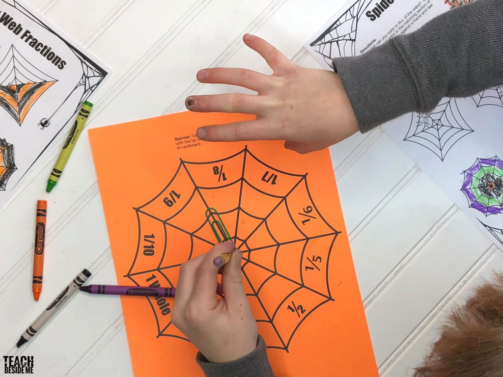 spider web fraction spinner