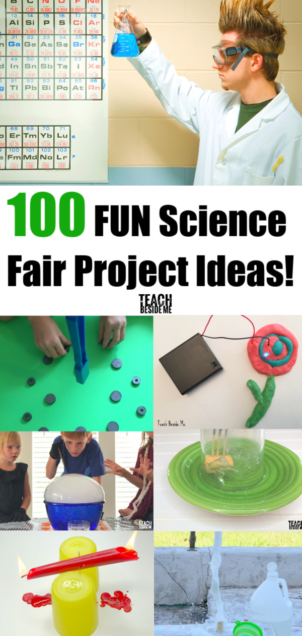 100 Fun Science Fair Project Ideas