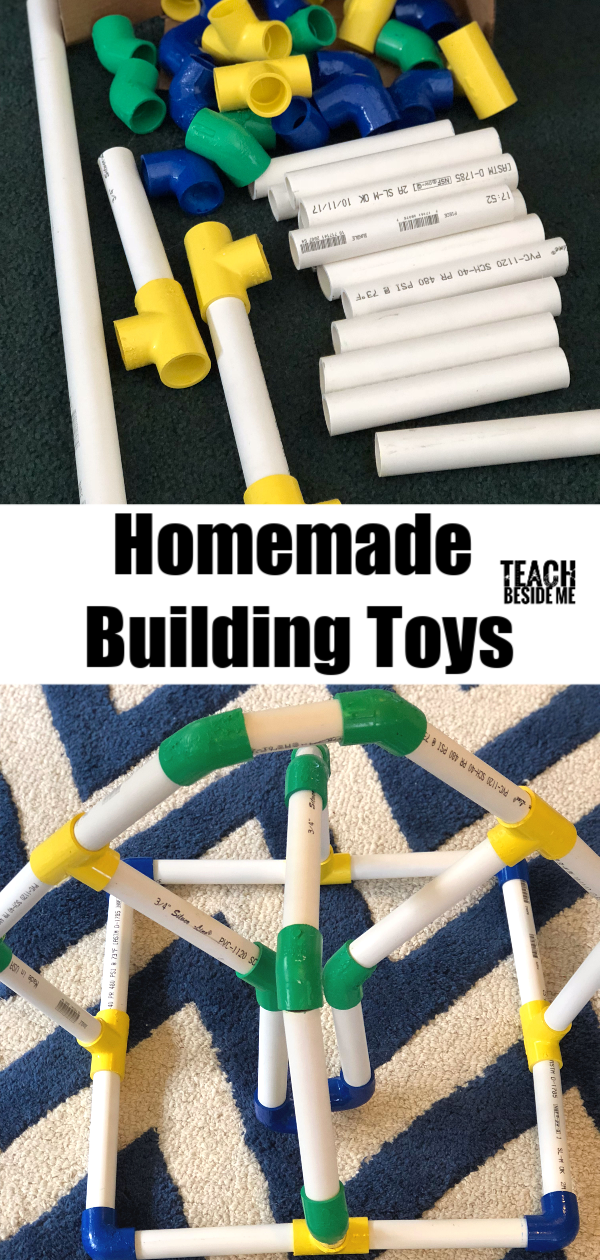 Homemade STEM Building Toys