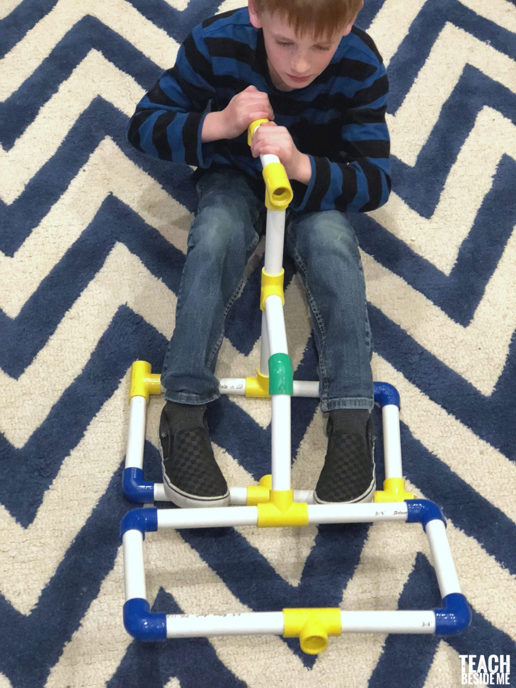 homemade engineering set for kids