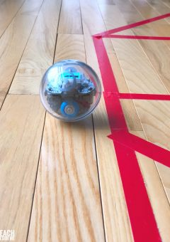 Sphero Robots for STEAM Teaching