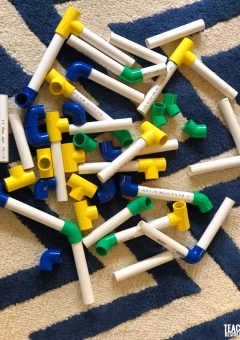 Homemade Building Toys with PVC Pipes