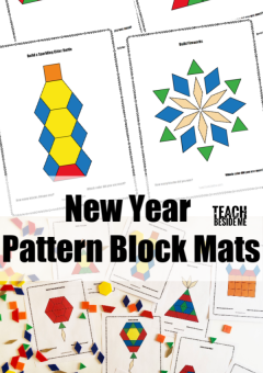 New Year Pattern Block Mats