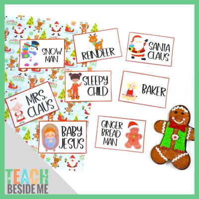 Christmas Charades printable cards