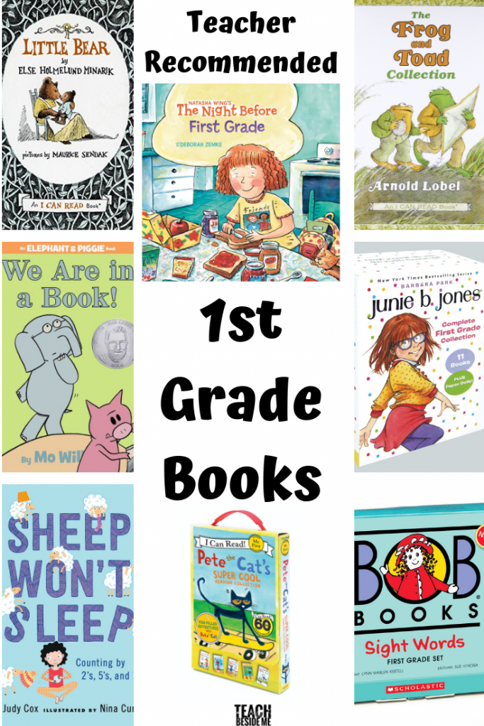 teacher recommended: first grade books