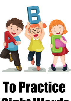 7 Fun Ways to Practice Sight Words