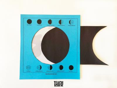 moon phases slider